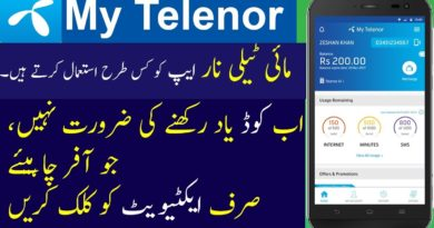 Install My Telenor App to enjoy Telenor 4G Ultra Extreme Offer 8GB Internet