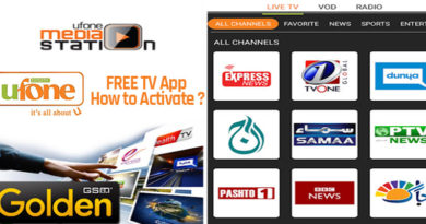 Ufone FREE TV App - How to Activate