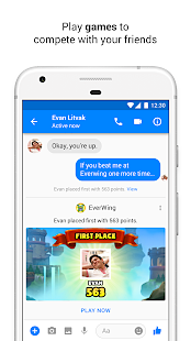 FB Messenger Games features