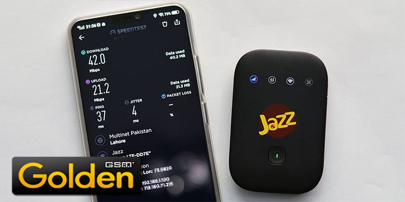 4G Jazz WiFi Device Price - Unboxing Speed Checking