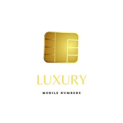 Luxury golden numbers